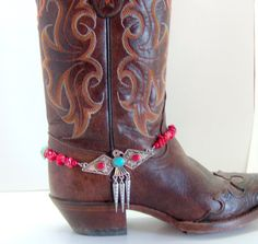 Cowgirl Antique Silver Thunderbird Boot by Louisefashionjewelry