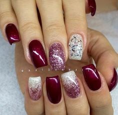 39 Trendy Fall Nails Art Designs Ideas To Look Autumnal and Charming - autumn nail art ideas fall nail art fall art designs autumn nail colors autumn nail ideas dark nail designs coffin nails Square Nail Designs, Fall Nail Art Designs, Acrylic Nail Designs, Sparkly Nail Designs, Holiday Nail Designs, Sparkly Nails, Fancy Nails, Glitter Nails, Gold Glitter