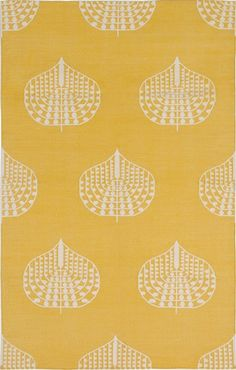 yellow? or too much?    Madeline Weinrib - Cotton Library - Carpets