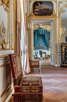 Salons Violet, Restaurant, Royal Palace, Versailles, 18th Century, Restoration, Photos, Castle, Fancy