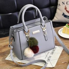 Luxury Handbag Women Bags Women Hairball Shoulder Bag Ladies Hand Bags Vintage Leather Messenger Bag Female Hand Bolso Bags – Purses And Handbags Diy Cheap Purses, Cheap Handbags, Handbags Michael Kors, Purses And Handbags, Leather Handbags, Luxury Handbags, Popular Handbags, Luxury Purses, Cheap Bags