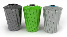 Cpc Finalwhite Litter Bin Trash Cans Design