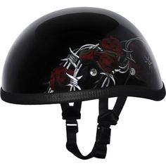 Daytona Barbed Roses Eagle Novelty Helmets