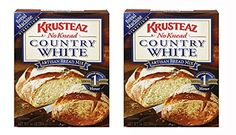 Krusteaz Artisan Country White Bread Mix  No Knead  2 of 14oz ** To view further for this item, visit the image link.(This is an Amazon affiliate link and I receive a commission for the sales)