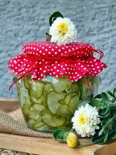 Az otthon ízei: Svéd uborkasaláta télire