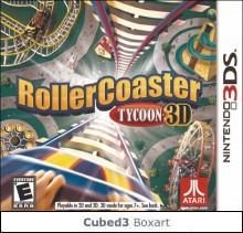 Boxart for RollerCoaster Tycoon 3D on Nintendo 3DS