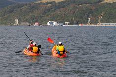 O activitate superba.. cu caiacul pe Dunare