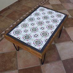 """""""QUE HORAS SÃO?"""" TABLE Portuguese Tiles, Surrealism, Table, Furniture, Home Decor, Lisbon, Tiles, Decoration Home, Room Decor"""