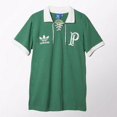 02b69e6862 adidas - Camiseta Palmeiras Retrô Centenário Adidas Brasil
