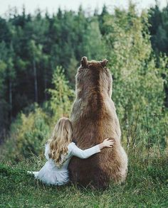 Me and my bear ...
