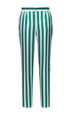 Striped Twill Trouser by DOLCE & GABBANA for Preorder on Moda Operandi