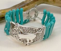 Turquoise Cowgirl Jewelry Women's Western Jewelry by babbleon, $40.00