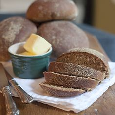 Steakhouse Honey Wheat Bread - a knockoff recipe of the famous dark bread served at an American chain steakhouse