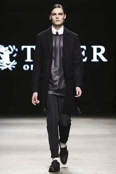 Tiger of Sweden Menswear Fall Winter 2015 London - NOWFASHION