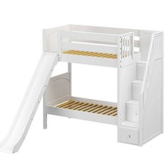 Make sure you visit our site for a whole lot more regarding this impressive photo Low Bunk Beds, Kids Bunk Beds, Best Storage Beds, Bed Storage, Bed End, One Bed, Childrens Bunk Beds, Childrens Bedroom, Bunk Bed With Slide