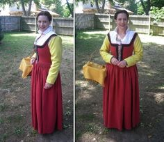 Elizabeth's late 1500s Italian working class costume via FabricsStore Chronicle