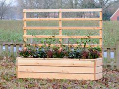 pflanzkasten mit rankhilfe bauanleitung zum selber bauen gartenideen pinterest. Black Bedroom Furniture Sets. Home Design Ideas