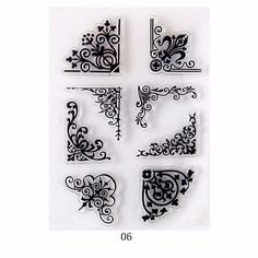 Alphabet-Transparent-Silicone-Clear-Rubber-Stamp-Sheet-Cling-Scrapbooking-DIY