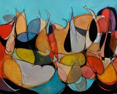 Chris Vance Artist Directory | Currently Available Art | Moberg Gallery - we own 2 of his abstracts