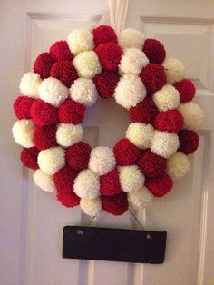 Christmas decorative wreath!