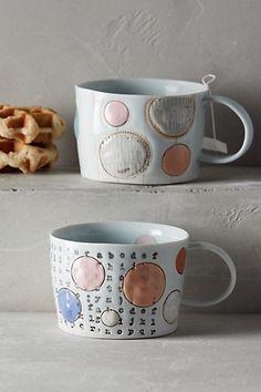 Stepanka Drift Dot Mug - anthropologie.com