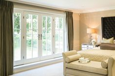 68mm Flush or Lipped Timber French Doors by Bereco