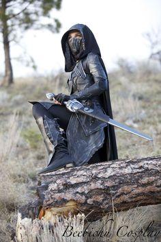 Nightingale Armor Cosplay (Skyrim) By Beebichu On Etbgerfp Warrior Girl, Fantasy Warrior, Warrior Princess, Warrior Women, Narnia, Story Inspiration, Character Inspiration, Character Design, Fantasy World