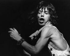 Mick Jagger by Bob Gruen  #Ark #MickJagger #BobGruen