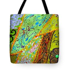 """Travel Shopping Colorful Tapestry Series 15 India Rajasthan Tote Bag 18"""" x 18"""""""