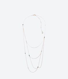 ZARA - WOMAN - UNTITLED JEWELS COLLECTION BEAD NECKLACE
