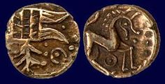 Iceni coin of the 1st Century AD.