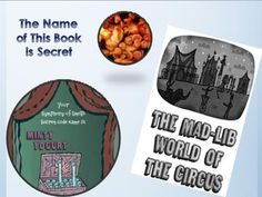 Snacks and activities for The Name of This Book is Secret, by Pseudonymous Bosch