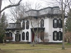 Gillett-Shoemaker-Welsh House - National Register of Historic Places listings in Lucas County, Ohio - Wikipedia Abandoned Houses, Old Houses, Toledo Ohio, Historic Homes, Victorian Homes, Welsh, Beautiful Homes, Altars, Explore
