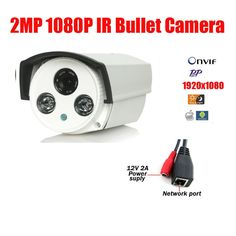 32.58$  Buy here - http://aliluw.shopchina.info/go.php?t=32809554051 - Free Shipping 2 Array Led 2MP 1080P HD IP Cam CCTV IP Camera Outdoor Infrared Night Vision IR Bullet Box Camera 32.58$ #aliexpresschina