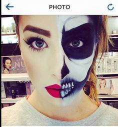 I love this look from @Sephora's #TheBeautyBoard http://gallery.sephora.com/photo/half-dead-19401