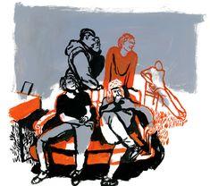 J'AIME PAS L'ÉCOLE - benoit guillaume illustration
