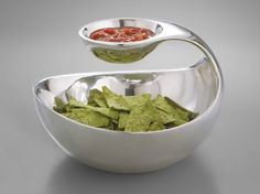 Because EVERYONE needs a $250 chip and salsa bowl - but this one is so pretty!
