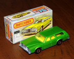 Vintage Matchbox Cougar Villager Die-Cast Model NOS, Made In England, Copyright 1978 By Lesney Products 1970s Childhood, Childhood Memories, Childhood Toys, Antique Toys, Vintage Toys, Classic European Cars, Old School Toys, Matchbox Cars, Metal Toys