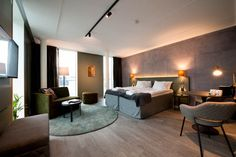 Room Scandic Continental. Photo by: Ulf Hinds