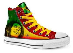 bob marley custom converse all stars i need these in my life rh pinterest com