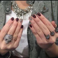 Ring finger manicure!