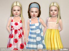 lillka's Toddler Dresses Collection P55