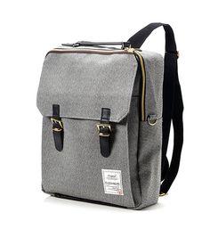 Golden Square Backpack Black por BagDoRi en Etsy