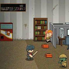 Zombies tomaram conta de Pillow City! Encontre armas e outros materiais para sobreviver e procurar a sua irmã neste jogo Flash.