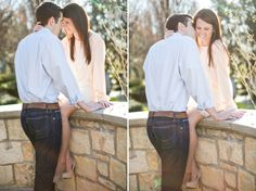Dallas Arboretum Engagement Pictures | Meegan Weaver Photography Blog/Wichita Falls Wedding Photographer