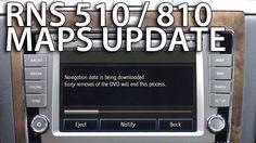How to update maps in #RNS510  #RNS810 #Volkswagen #Skoda #Seat GPS