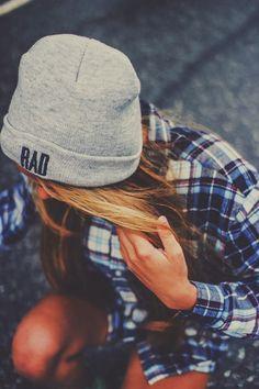 ( ?° ?? ?°) Grunge Rock | Beanie + Plaid