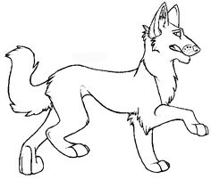 Free Animals Coyote Coloring Pages For Preschool
