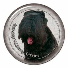 Black terrier 3D sticker - #blackterrier #tchiornyterrier #russkyterrier #russkytchiornyterrier