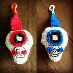 Crocheted Digimon digivice #crochet #digimon #anime #digitalmonsters #digivice
